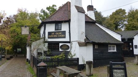 Ye Olde Fighting Cocks, St Albans. Picture: ARCHANT LIBRARY