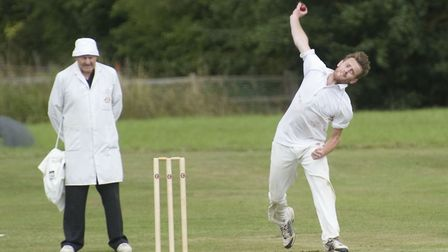 Ben Carter took four wickets for Needingworth.