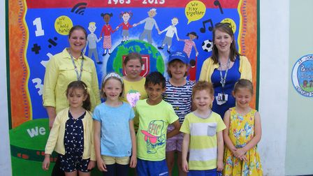 St John Fisher pupils on Alban Day. Picture: ST JOHN FISHER SCHOOL