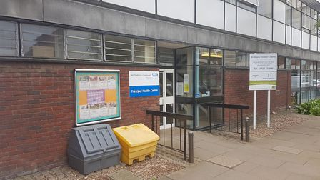The health centre in Civic Close. Picture: FRASER WHIELDON