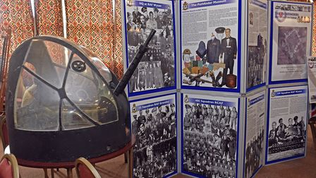 Bomber Command day at the Comrades Club, in Godmanchester.