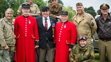 Last year's Armed Forces Day in St Neots