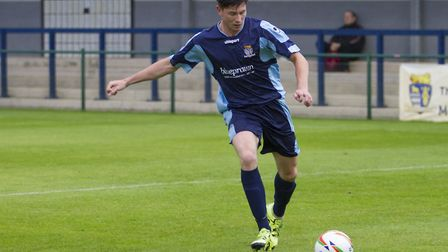 Taylor Parr of St Neots Town. Picture: CLAIRE HOWES