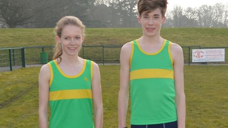 Hunts AC runners Shannon Flockhart and Joey Croft have both been selected for the English Schools Ch