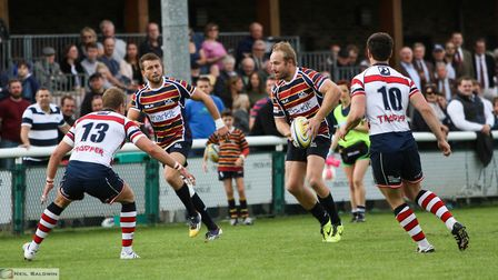 Rosslyn Park provide the opening day opponents for Old Albanian Rugby Club. Picture: NEIL BALDWIN PH