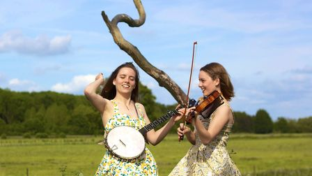 The Carrivick Sisters will play at IOFringe. Picture: JOHN BREESE