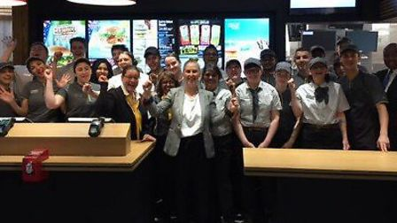 The renovated McDonald's at St Albans Retail Park. Picture: MIKE GHAZARIAN