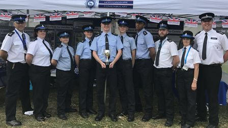 Volunteer Police Cadets from St Albans and Harpenden emerged victorious as they competed in an event
