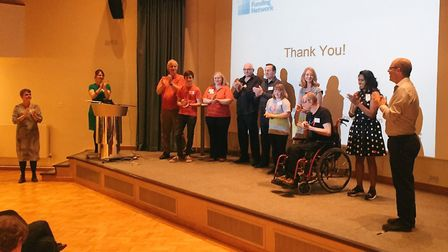A Dragons' Den-style event in Harpenden raised more than £13,000 for Hertfordshire charities. Pictur