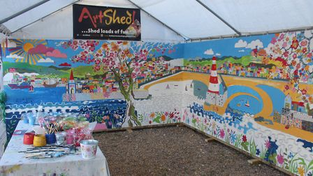 Childwickbury Arts Fair 2017. Picture: RUPERT EVERSHED