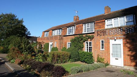 Homes in Welwyn Garden City - such as these on Handside Lane - are among the most in-demand in the c