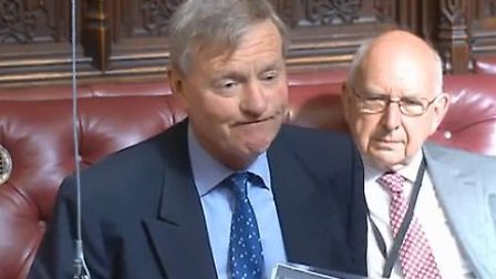 Lord Robathan in the House of Lords. Photograph: House of Lords.