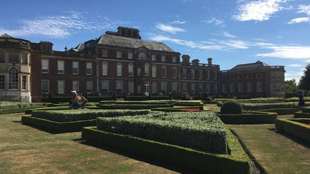 Wimpole Hall provided a stunning backdrop for the history festival.