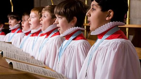 St Albans Cathedral choristers [Picture: S Tottman]