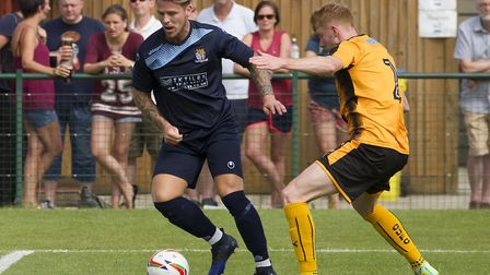 Declan Rogers is a target for Eynesbury Rovers after impressing in a run-out for them on Monday. Pic