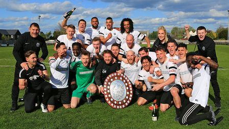 Royston Town were crowned championsof the Southern League Division One central last season. Picture: