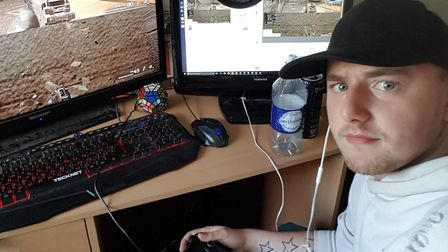 George Bailey has taken part in a 24-hour gaming marathon to raise funds for the Road Victims Trust.