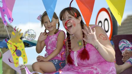 Hundreds of people turned out to enjoy St Ives Carnival