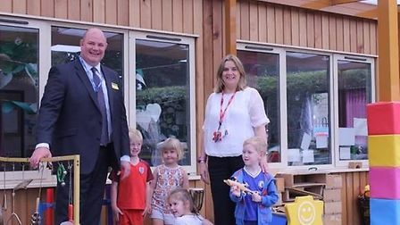 The Harpenden Society helped to resurface Beech Hyde's playground