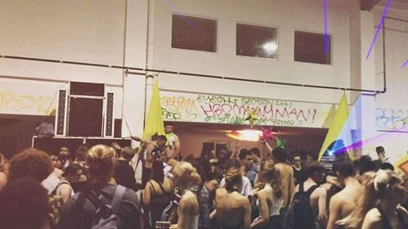 The illegal rave in St Albans