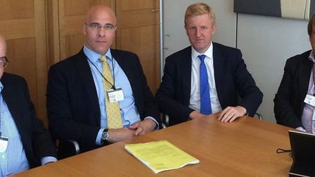 Oliver Dowden meeting with Network Rail.