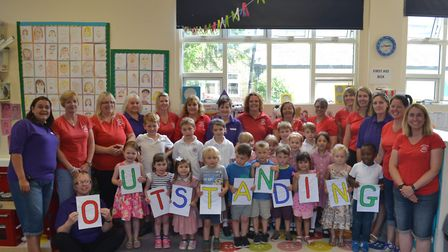 Melbourn Playgroup has achieved an 'outstanding' grade from Ofsted in all areas.