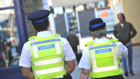 Police have made three arrests following violent disorder in Yaxley.