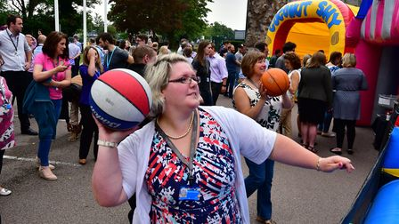 Johnson Matthey employees enjoyed a day of celebrations for the firm's 200th anniversary.