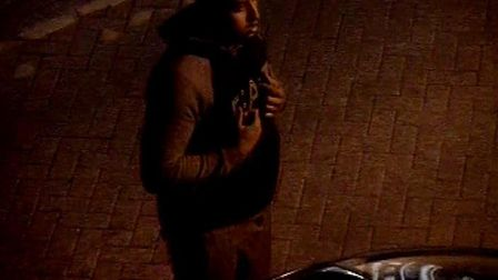 Police have released CCTV in connection with an assault in Yaxley
