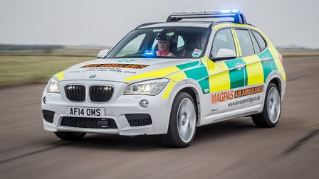 Man seriously injured following fall from height in St Neots.