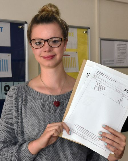 St Peter's pupil Isabel Fowler managed a 9 in English language and an 8 in literature.