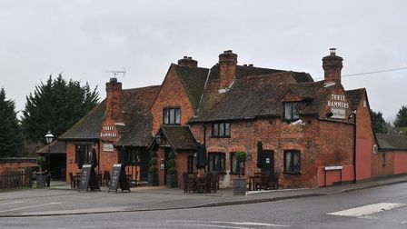 The Three Hammers is a Grade II listed building