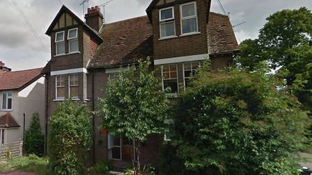 The house which could be demolished to make way for a new development on Cross Way, Harpenden. Photo