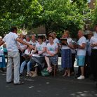 Global Harmony singing in support of Herts Musical Memories.