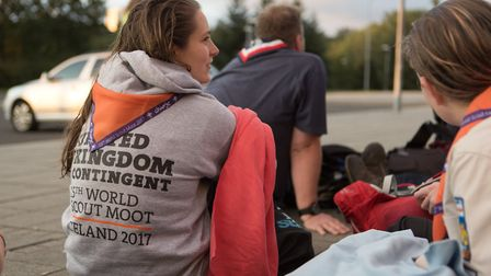 The Scout Moot in Iceland.
