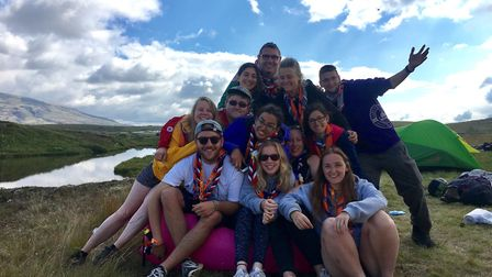The World Scout Moot in Iceland.