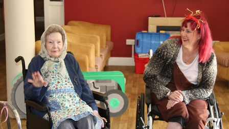 Residents got involved in the fun. Picture: Courtesy of Roz Wulff