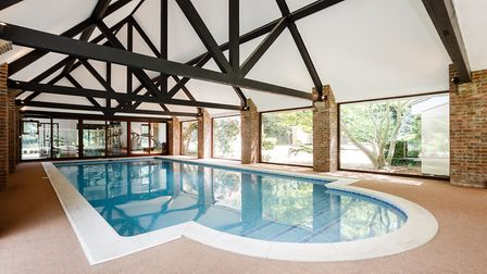 Every country house needs its own indoor pool...