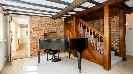 The Grade II listed home isn't short on original features