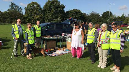 Car boot sale held in Godmanchester to raise funds for the mayor's charities