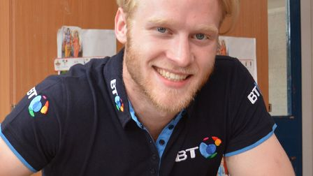 Paralympic champion Jonnie Peacock.