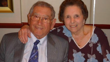 Giovanni Coppolaro and his wife Maria, died after they were involved in a collision on the A73 in No