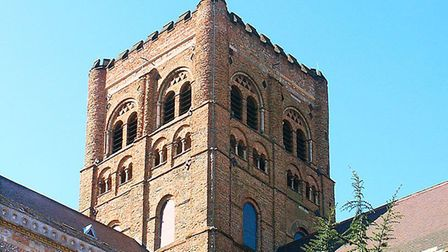 St Albans Cathedral's Norman Tower