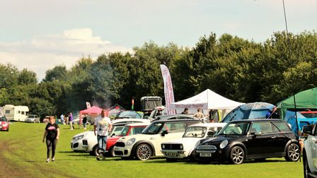 There was lots to see at the Cambridge International Mini Chill. Picture: Clive Porter