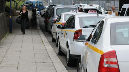 St Albans taxi drivers are unhappy with plans calling for them to convert to all-electric.