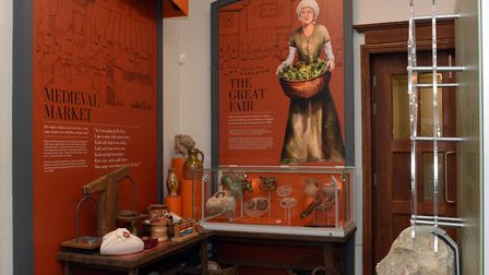 One of the new displays at the Norris Museum.