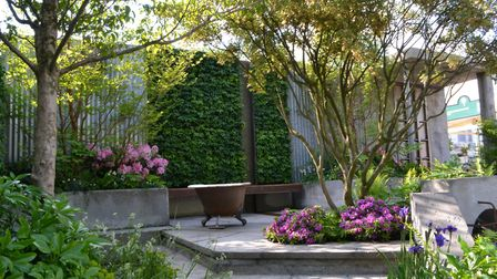 Kate created a show garden called The Wasteland at the 2013 Chelsea Flower Show