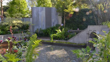 """The show garden was widely described as """"pretty"""" and """"beautiful"""", says Kate"""