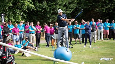 The golf fundraiser was organised by Royston barber Carlo Infanti. Picture: Shelagh Bidwell