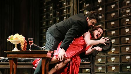 The Russian State Opera presents Tosca at The Alban Arena in St Albans